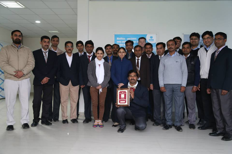 The Sales team of North India.