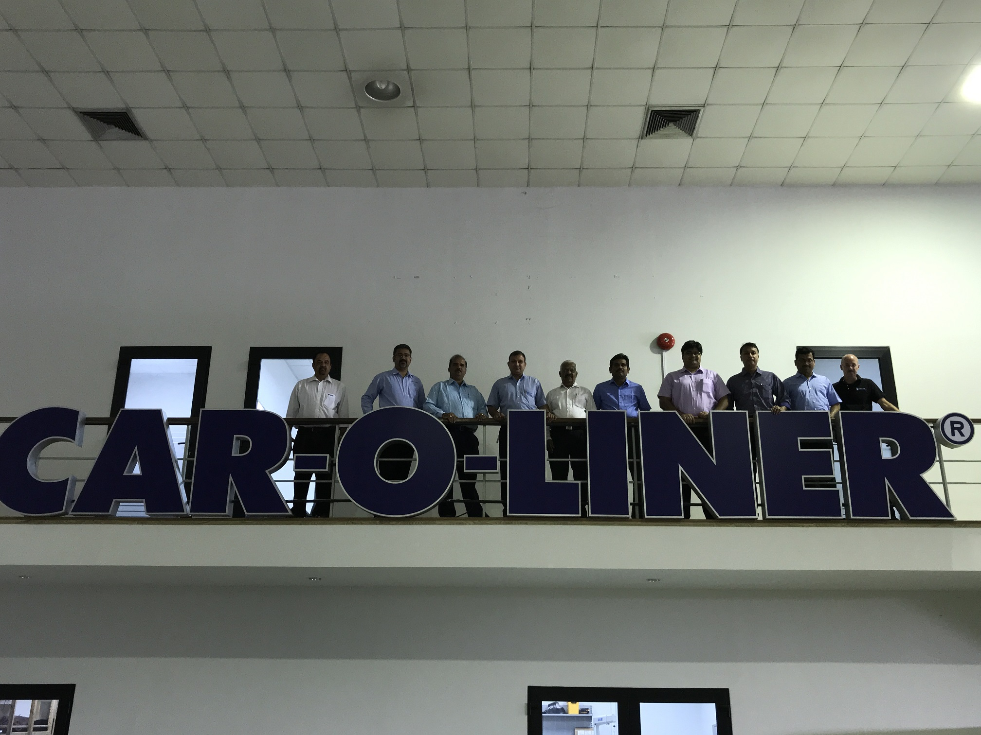 Team Madhus at Car-O-Liner Training center, Thailand