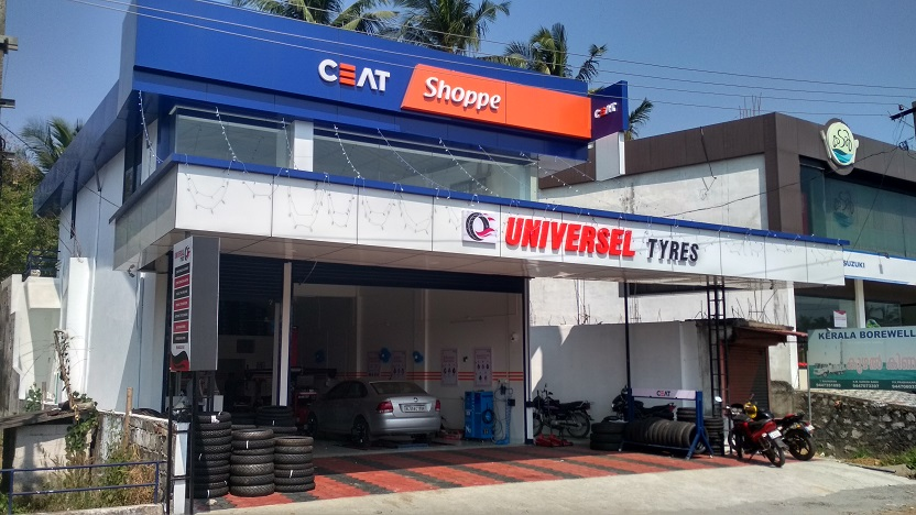 Universel Tyres Palakkad, Ceat Tyre Shopee