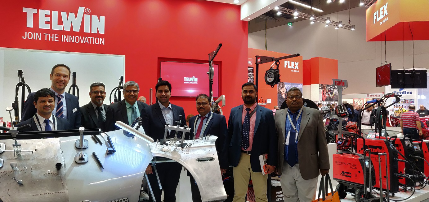 Madhus visits Italy and Germany for sales training and Automechanika Germany 2018.