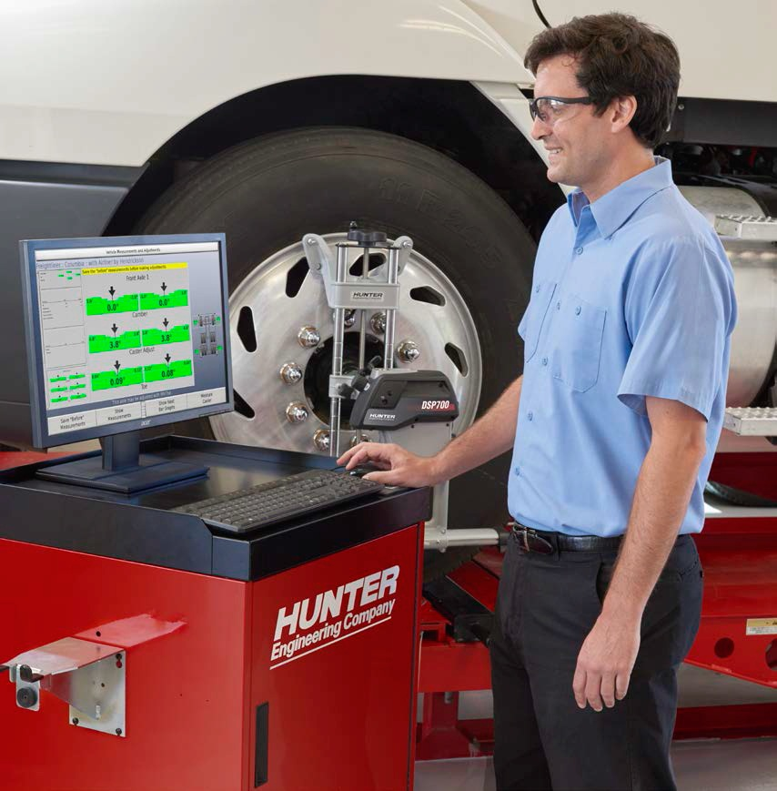 Madhus Garage Equipment - Hunter PT 200 Wheel Alignment HD