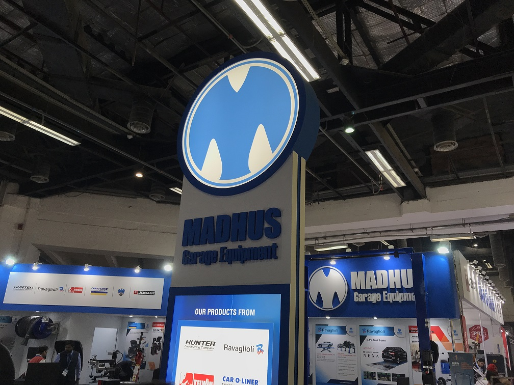 Madhus at AutoExpo 2018